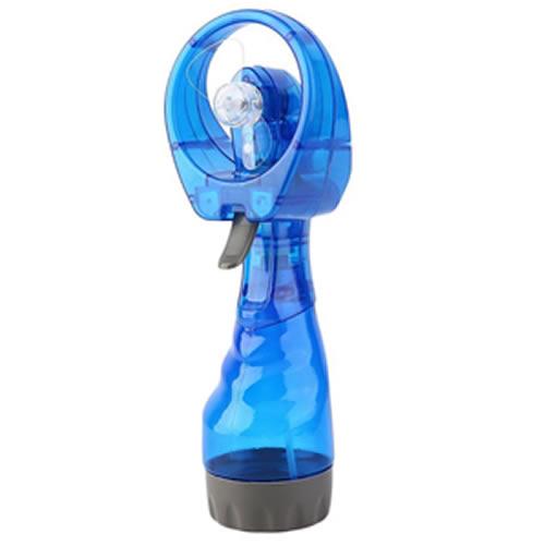 Ventilador Portátil Borrifador Umidificador Spray Azul CBRN05154