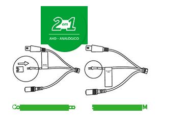 Tecnologia Híbrida da VMD 1120 IR G4 Intelbras