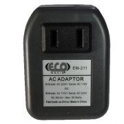 Transformador Adaptador bivolt 110v-220v/220v-110v 50 watts Eco Mania EM211