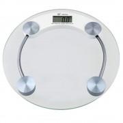 Balança Eletrônica Digital 180 kgs 2003-A Vidro Temperado - BLBQ-153 Redonda