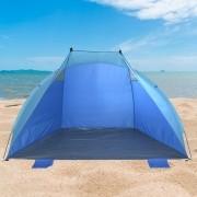 Barraca Beach Tent abrigo proteção sol vento p/praia camping CBR03624