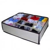Organizador para gavetas 16 compartimentos 5582 para cuecas meias
