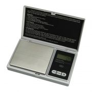 Mini Balança Digital Alta Precisão de Bolso Portátil 500gr Prata - CBR1049