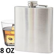 Porta whisky vodka garrafa de aço portátil cantil 8 oz 236ml CBRN01446