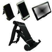 Suporte Universal para Smartphone, Tablet, E-book, Preto CBRN02108