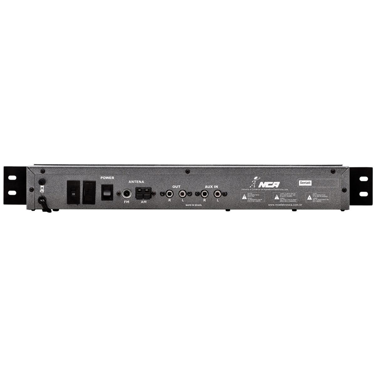 Sintonizador AM / FM c/ USB Play - RC 100 USB NCA