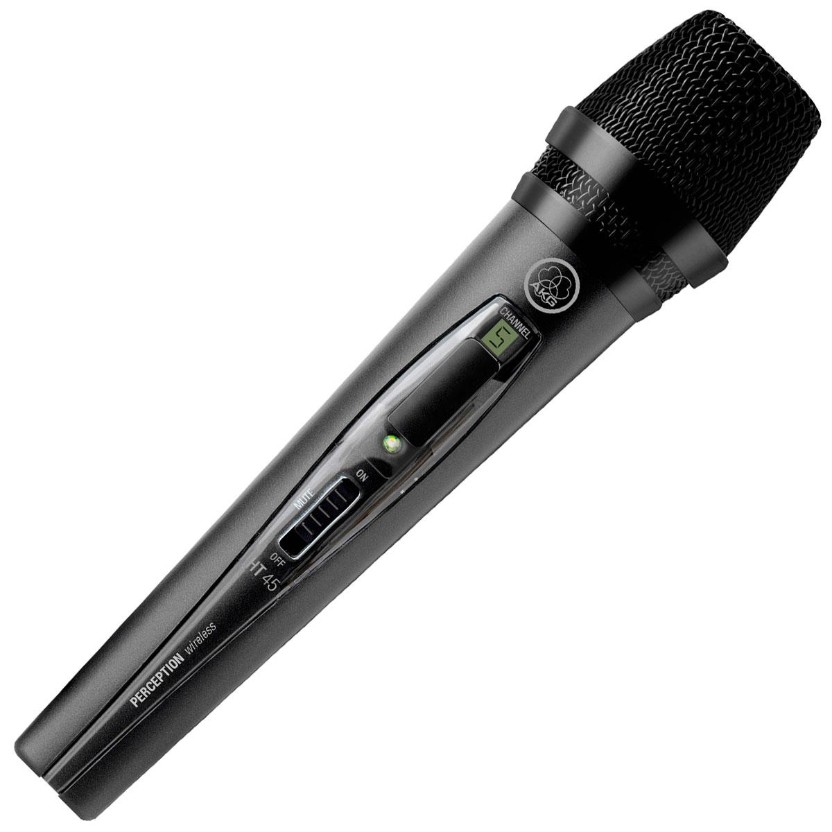 Microfone s/ Fio de Mão UHF Perception PW 45 Vocal - AKG