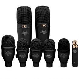 Microfone c/ Fio Dinâmico p/ Instrumentos (8 Unidades) - DRK F 5 H 3 Superlux