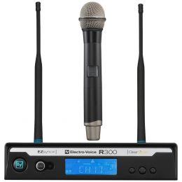 Microfone s/ Fio de Mão UHF R 300 HD PL 22 - Electro-Voice