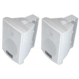 Caixa Passiva p/ Som Ambiente Fal 6 Pol 100W c/ Suporte (Par) 600 B - CSR