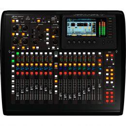 Mesa de Som / Mixer Digital 16 Canais ( Expansível ) 16 Saídas Multiuso X 32 Compact - Behringer