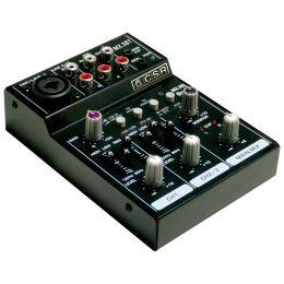 Mesa de Som 3 Canais (1 XLR Balanceado + 2 RCA) c/ USB / Bluetooth / Phantom - MX 3 BT CSR
