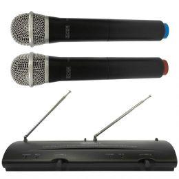 Microfone s/ Fio de Mão Duplo VHF - 204 H CSR
