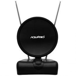 Antena Interna p/ TV VHF / FM / UHF / HDTV - TV 500 Aquário