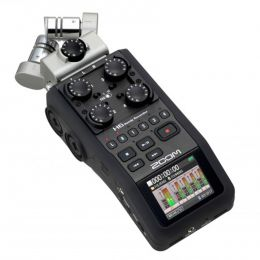Gravador Digital 24 Bits 4 Canais - H 6 Zoom