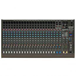 Mesa de Som 24 Canais Balanceados (20 XLR + 4 P10) c/ USB Play / Efeito / Phantom / 3 Auxiliares - CMBW 24 XDF Ciclotron
