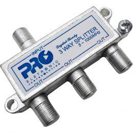 Divisor de Sinal 1:3 CATV 1GHz (25Unidades) - PQVD 1023 ProEletronic