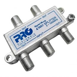 Divisor de Sinal 1:4 CATV 1GHz (25 Unidades) - PQVD 1024 ProEletronic