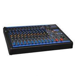 Mesa de Som 12 Canais XLR Balanceados c/ USB / Phantom / 1 Auxiliar - OMX 12 USB Oneal