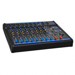 Mesa de Som 8 Canais XLR Balanceados c/ USB / 1 Auxiliar - OMX 8 USB Oneal