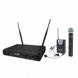 Microfone s/ Fio Mão / Headset / Lapela e Instrumento UHF - UH 06 MHLI Lyco