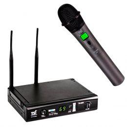 Microfone s/ Fio de Mão UHF - 8099 UHF TSI