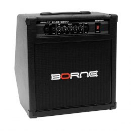 Cubo Ativo p/ Contrabaixo Fal 10 Pol 70W Impact Bass - CB 100 Borne