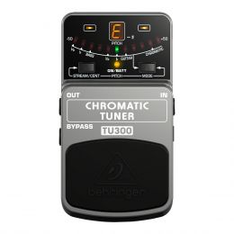 Afinador Cromático p/ Guitarra / Contrabaixo - TU 300 Behringer