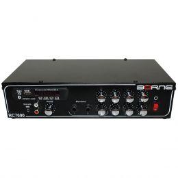 Amplificador Som Ambiente 80W c/ USB / Bluetooth - RC 7000 BT Borne