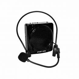 Kit Professor Portátil (Caixa 20W + Microfone c/ Fio) c/ USB/FM - AP 50 XFORT