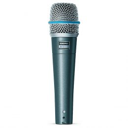 Microfone c/ Fio de Mão Dinâmico - Beta 57 A Shure