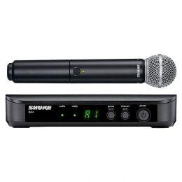 Microfone s/ Fio de Mão - BLX 24 BR / SM 58 Shure