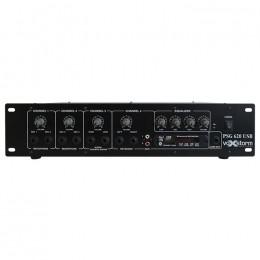 Cabeçote Multiuso 4 Canais 100W c/ USB PSG 620 USB - Voxstorm