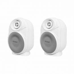 Caixa Passiva p/ Som Ambiente Fal 4 Pol 50W c/ Suporte (Par) - OB 120 E Oneal
