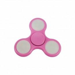 Fidget Hand Spinner Toy Rosa c/ LED - Fingertoy