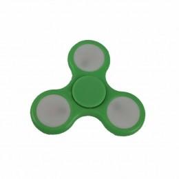 Fidget Hand Spinner Toy Verde c/ LED - Fingertoy