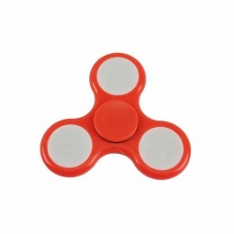 Fidget Hand Spinner Toy Laranja c/ LED - Fingertoy