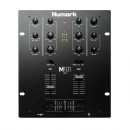 Mixer DJ 2 Canais M 101 USB - Numark