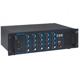 Mesa de Som 5 Canais P10 Balanceados c/ 250W - OMXP 1020 Oneal