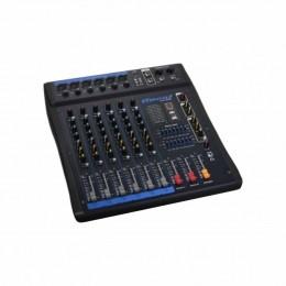 Mesa de Som 6 Canais XLR Balanceados c/ USB / Efeito / Phantom / 1 Auxiliar - OMX 602 Oneal