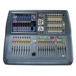 Mesa Digital 56 CH c/ DL251 / 08 FX Rtn / 16 Aux / 08 Mtx com Case - Pro 2 C MIDAS