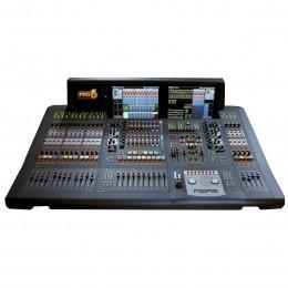 Mesa Digital 56 In 32 Out com DL251 / DL441 / 2 x DL442 / 08 FX Rtn / 16 Aux / 16 Mtx com Case - Pro 6 MIDAS