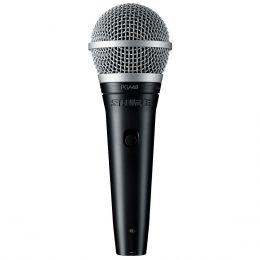 Microfone c/ Fio de Mão Dinâmico - PGA 48 LC Shure
