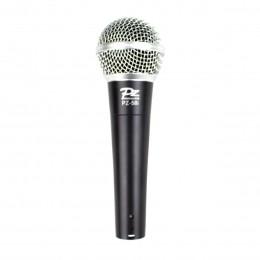 Microfone com fio de Mão Dinamico - PZ 58 I PZ