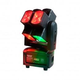 Moving Head RGBW 8 Cabeças 8x12W - EIGTH SQUARE PLS