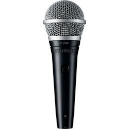 Microfone c/ Fio de Mão - PGA 48 XLR Shure