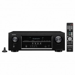 Receiver 5.2 Canais c/ 5 HDMI / Bluetooth / WIFI / 4K - AVR S 530 BT Denon