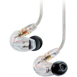 Fone de Ouvido In-ear 22 Hz - 17.5 KHz 20 Ohms - SE 215 CL Shure
