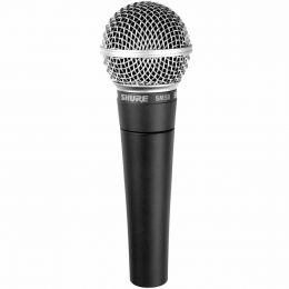 Microfone c/ Fio de Mão Dinâmico - SM 58 LC Shure