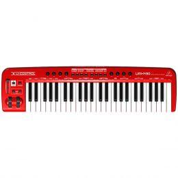 Teclado Controlador MIDI 49 Teclas c/ USB - U CONTROL UMX 490 Behringer